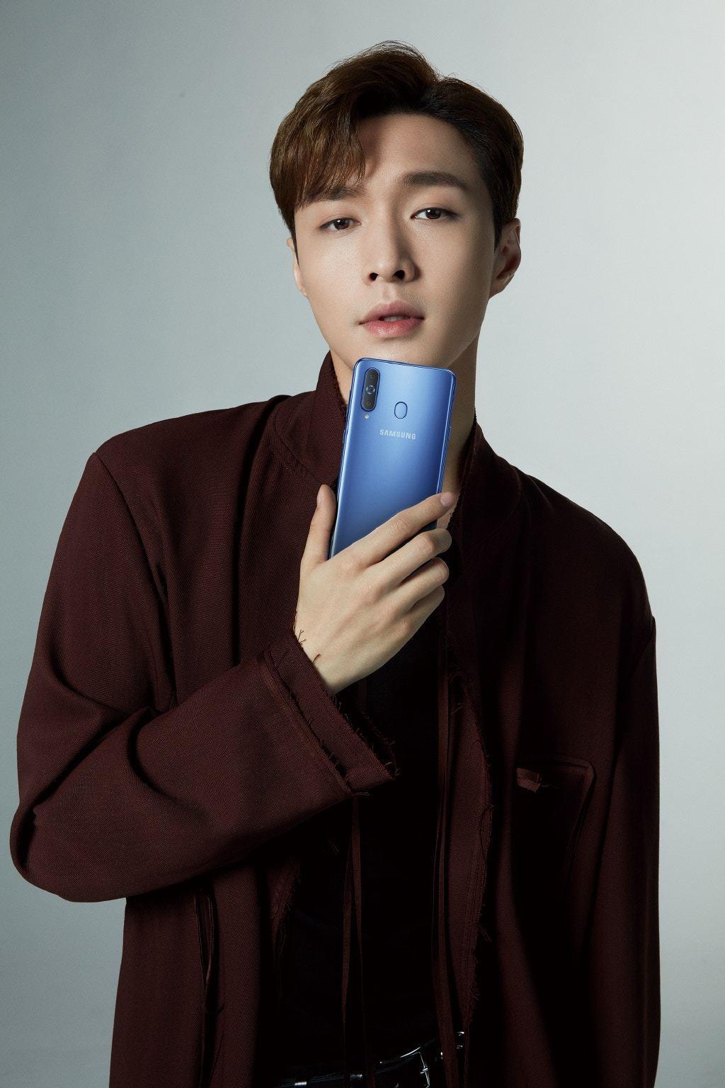 南韓團體EXO的中國籍成員張藝興擔任三星亞洲區代言人。 圖/取自張藝興推特