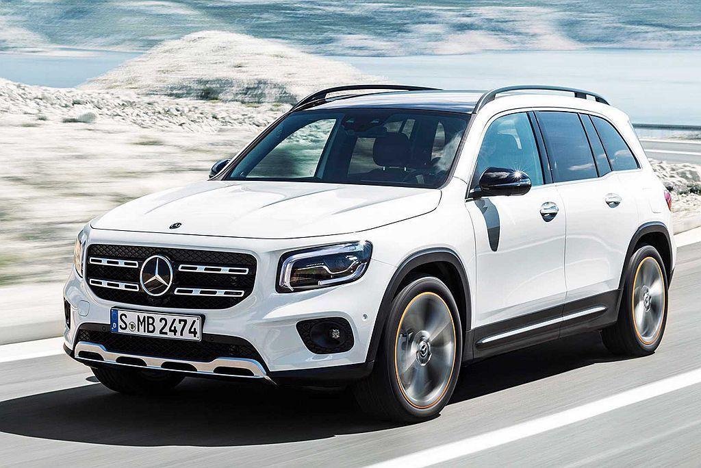 首年限時生產的賓士GLB Edition 1,在德國市場的升級金額為9,044歐...