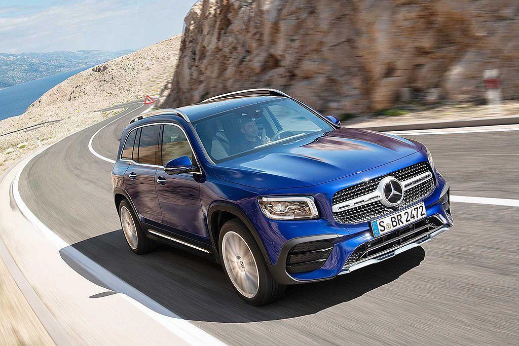 賓士NGCC最新都會休旅成員GLB預計今年導入販售。 圖/Mercedes-Be...