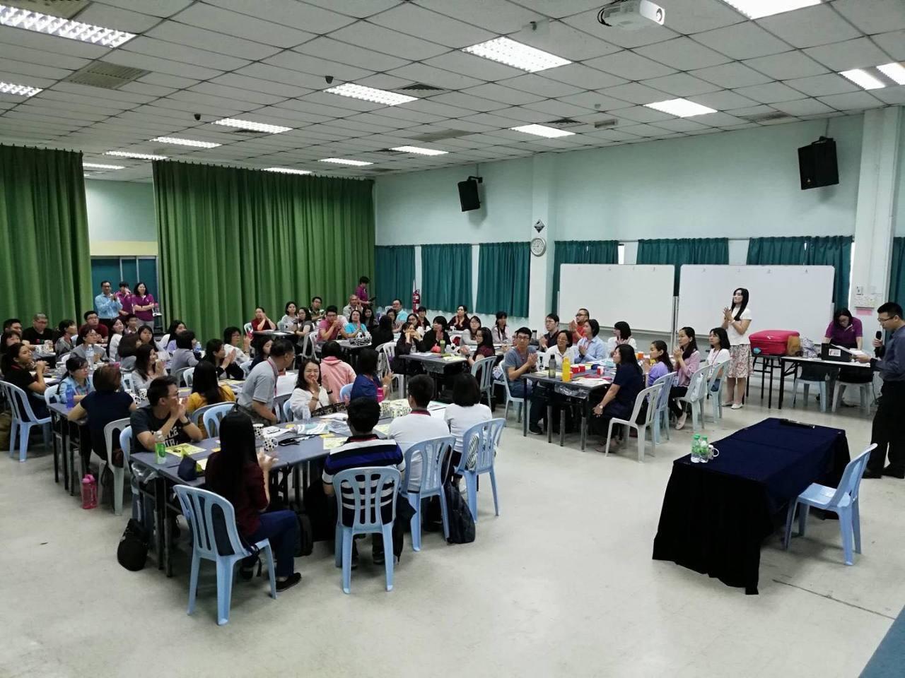 65人教師閱讀夢培訓課程。圖/宋怡慧老師提供