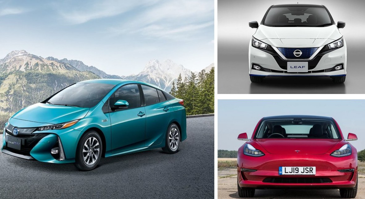 Tesla Model 3 vs Nissan Leaf vs TOYOTA PRIUS PHV 邁向未來要怎麼選?
