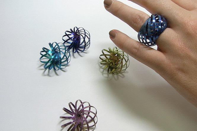 鈦金屬花系列—這才叫真正的玩首飾。