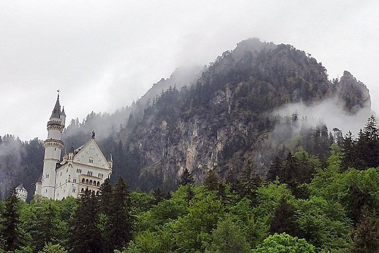 德國/新天鵝堡,全世界最美麗的城堡