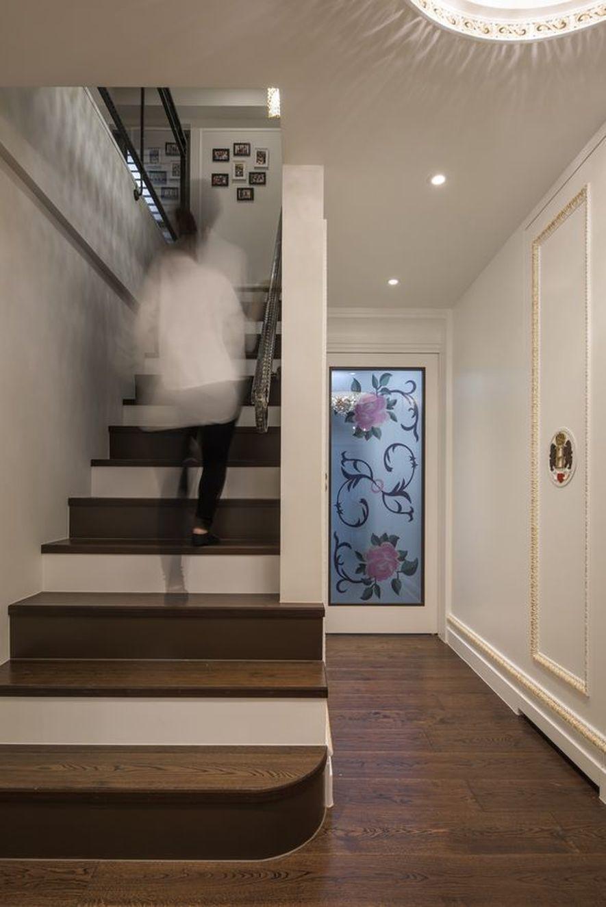 (圖)即便只是樓梯通道,也是Yocico展現細心的所在——為避免階距狹窄造成危險...