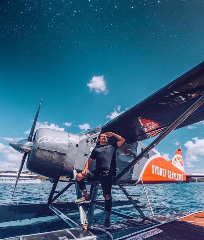 雪梨水上飛機體驗 圖/IG, sydney_seaplanes