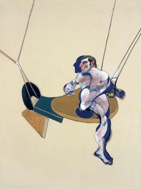 Francis Bacon, « Triptych » (détail), 19...