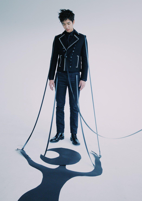 劉以豪拍攝「我們不能是朋友」跨出過去的安全感。圖/MilkX提供