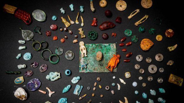 珍藏品內藏有多種珍貴寶石。歐新社