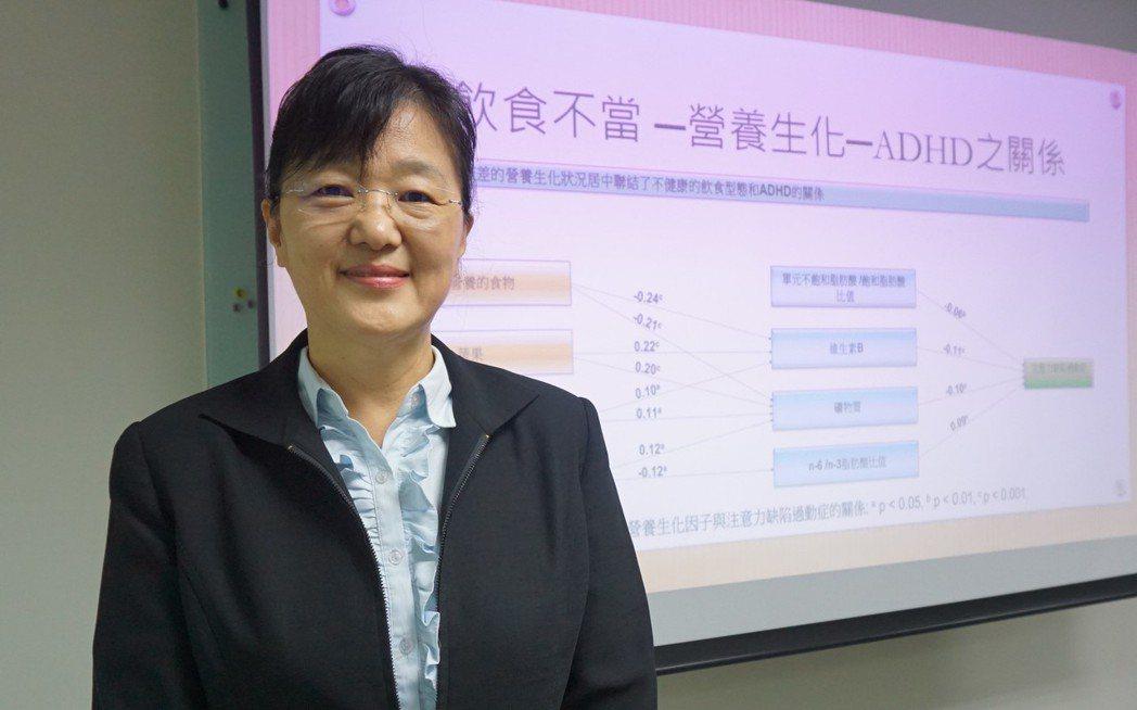中央研究院生物醫學科學研究所特聘研究員潘文涵。記者羅真/攝影