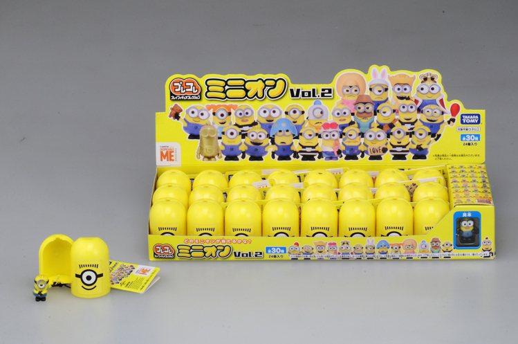 7-ELEVEN自8月13日起在全台900家門市推出獨家限定販售的小小兵膠囊收藏...