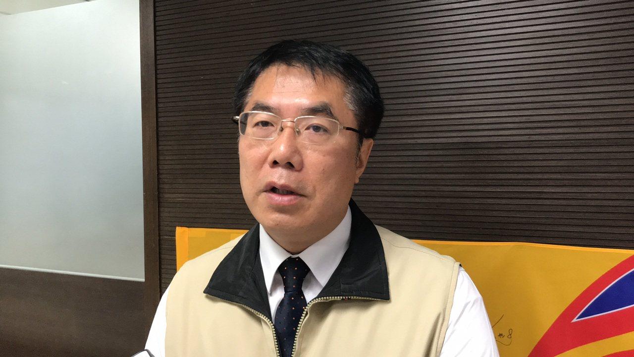 台南市長黃偉哲。本報系資料照片