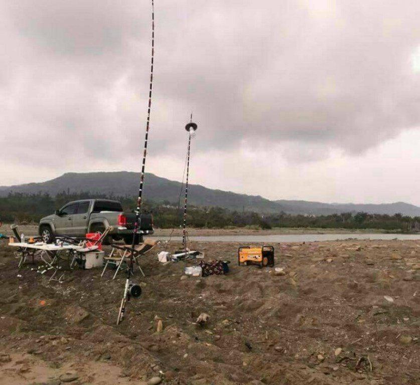 吳姓男子等人前年到佳樂水沙灘附近釣魚。圖/警方提供