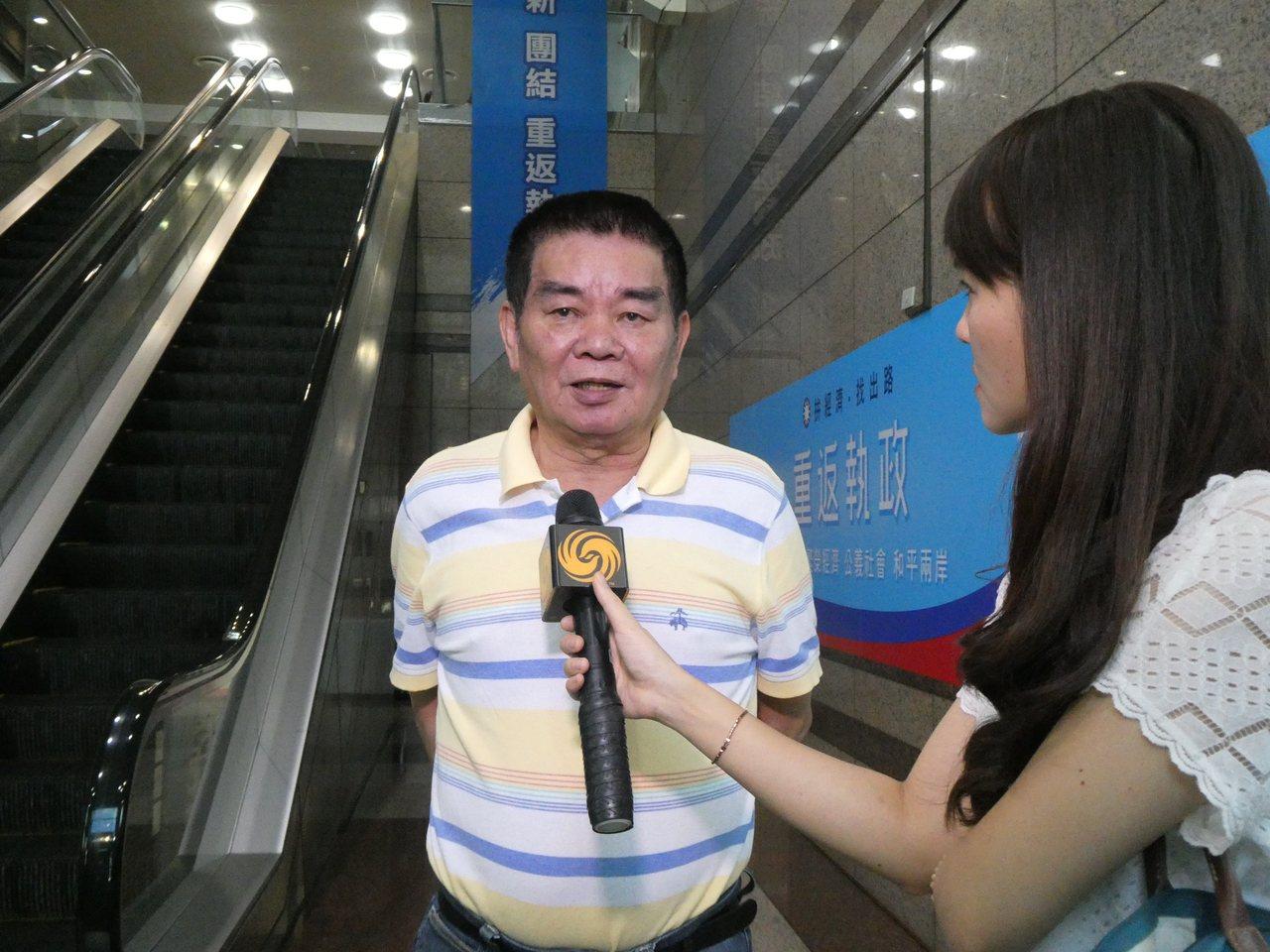 中常委姚江臨表示,攻擊韓國瑜的言論,就像出麻疹一樣,馬上就出完了。記者周志豪/攝...