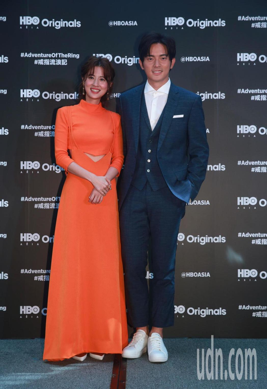 HBO Asia全新原創都會愛情喜劇影集「戒指流浪記」開拍記者會,女主角林予晞與