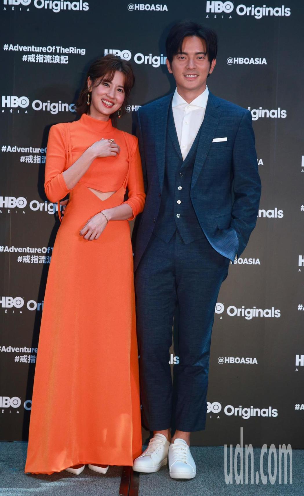 HBO Asia全新原創都會愛情喜劇影集「戒指流浪記」開拍記者會,女主角林予晞與...