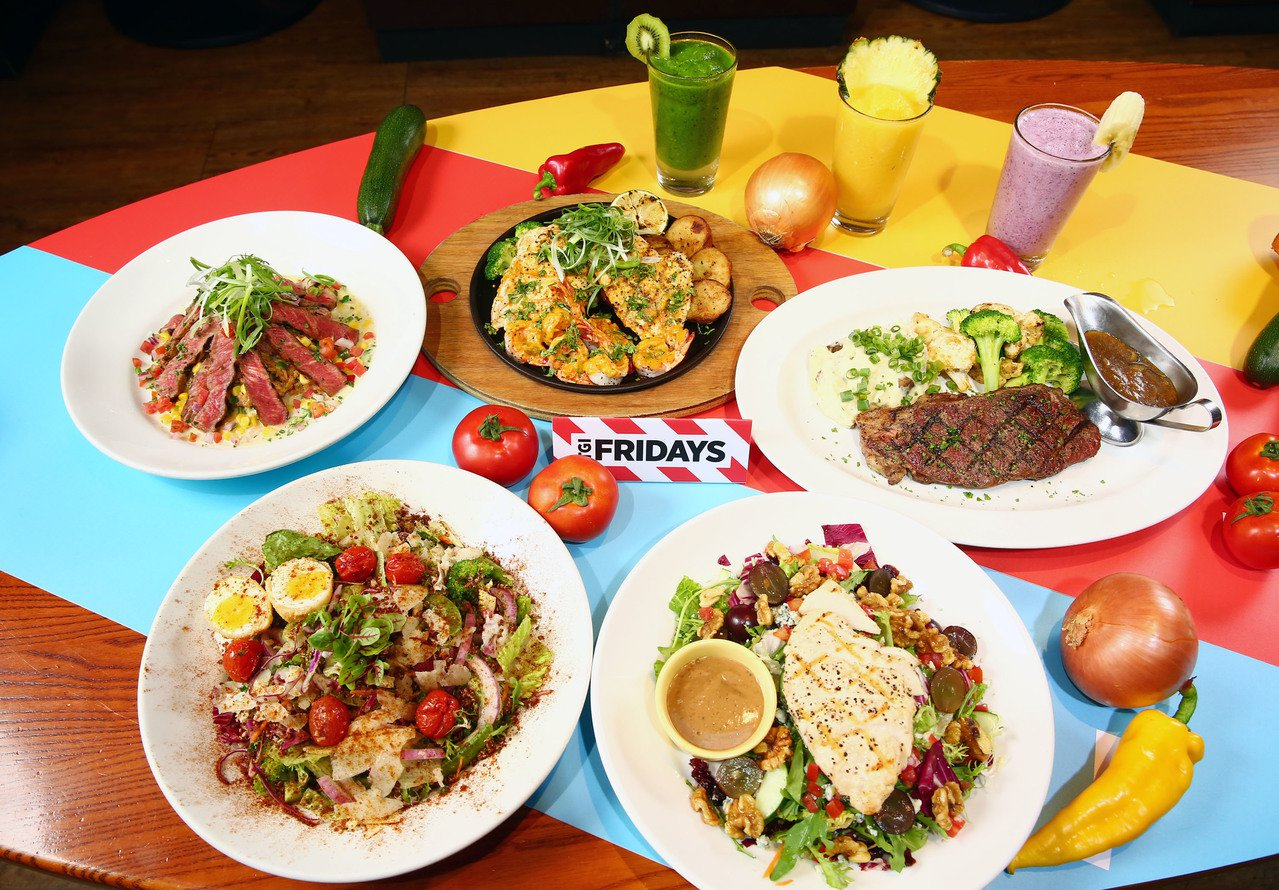 TGI FRIDAYS即日起攜手World Gym世界健身俱樂部,推出2H輕飲食...