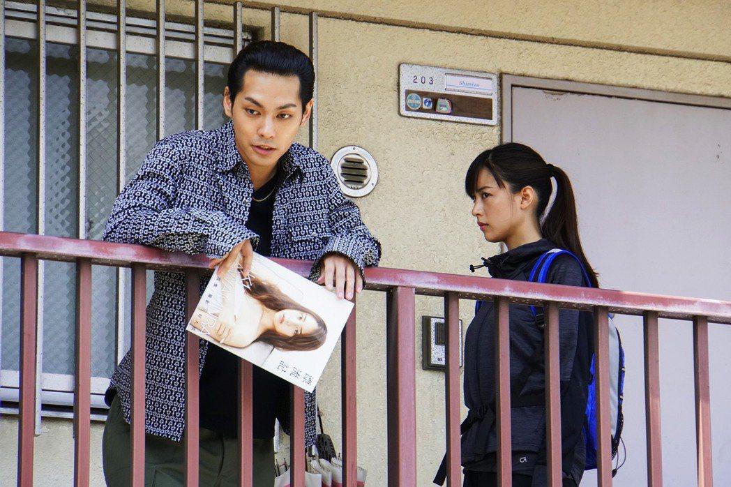 木村文乃(右)、柳樂優彌(左)在「殺手寓言」有精彩對戲。圖/采昌提供