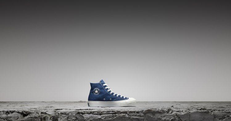 Converse Renew Denim高筒鞋款,售價2,980元。圖/Conv...