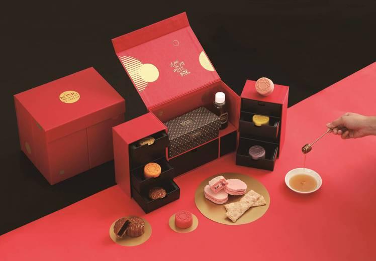 頂級珠寶月夜禮盒,售價1660元。圖/金格食品提供