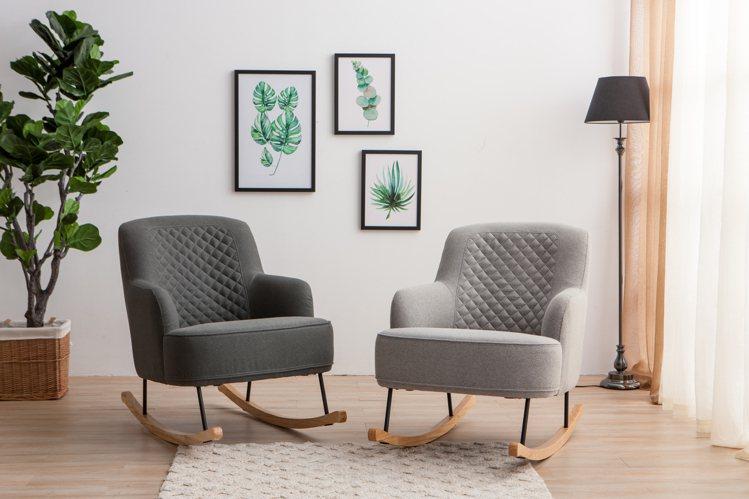生活工場本質品味搖椅單人沙發,原價9,900元、即日起至9月12日出清價4,95...