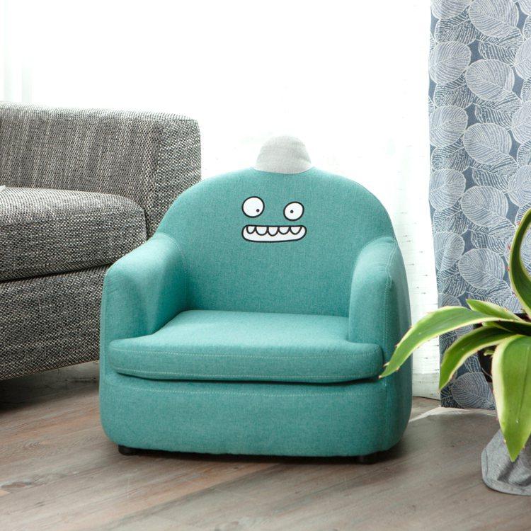 生活工場Monster怪獸迷你沙發,原價4,580元、即日起至9月12日鑽石會員...