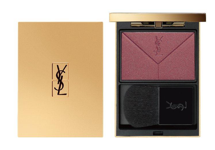 板橋大遠百8月14日至9月4日推出秋季化妝品節,YSL限量時尚宣言訂製腮紅13迷...