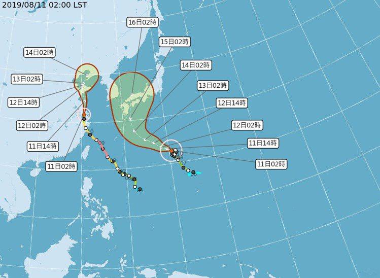 今年第10號颱風柯羅莎朝日本緩慢前進,影響日本九州一帶天氣,需搭機前往旅客要密切...