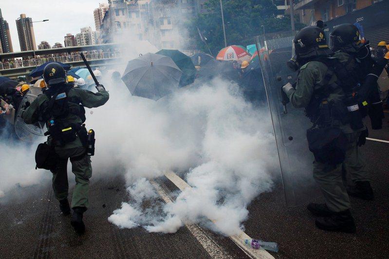 香港示威令國際投資人感到擔憂。路透社