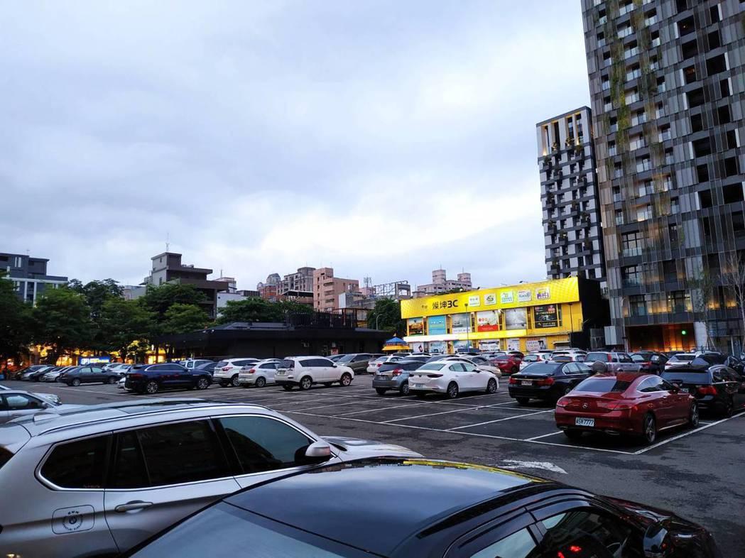 停車場示意圖,非關本新聞。記者陳秋雲/攝影