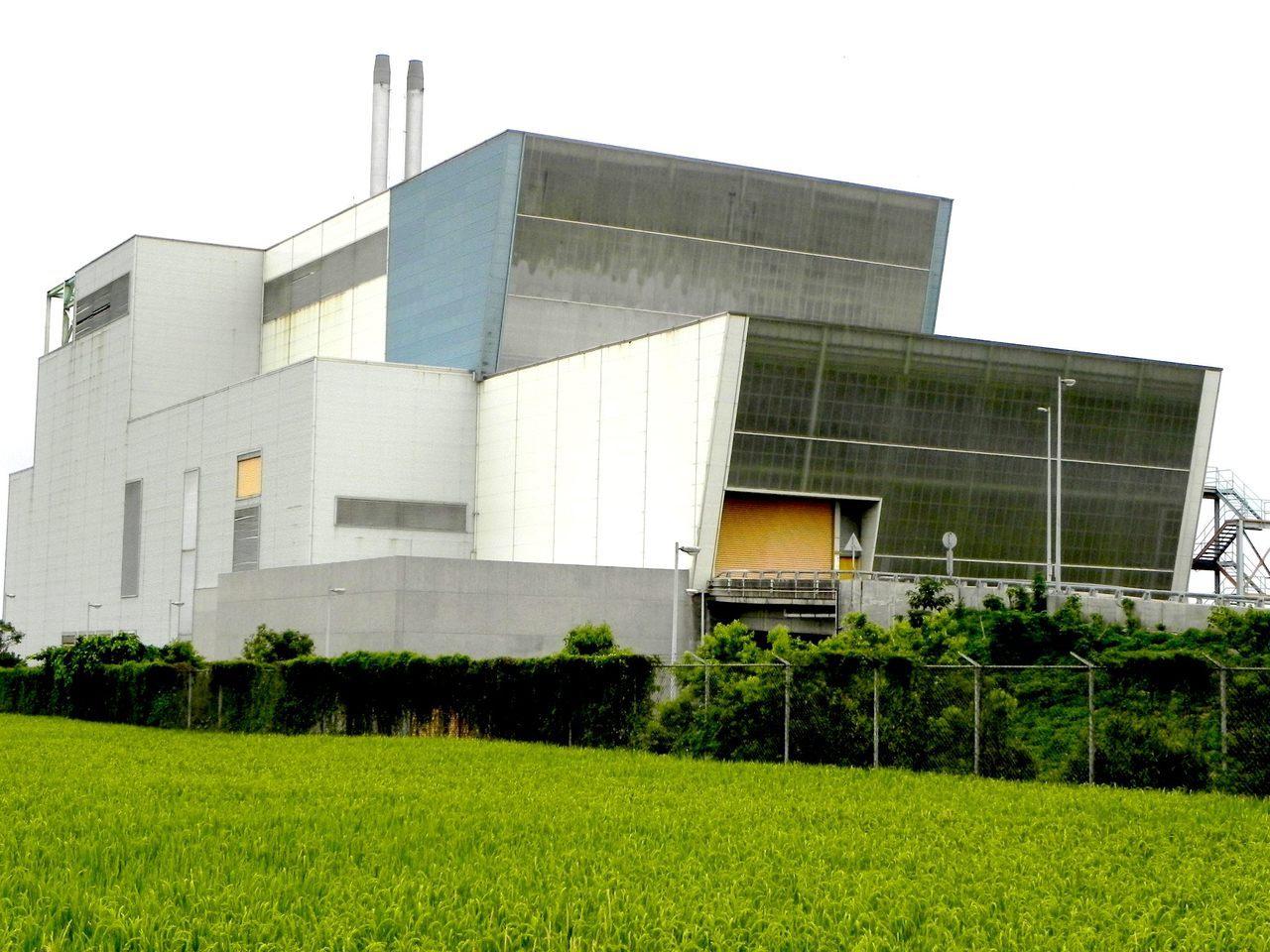 台東縣焚化廠建好14年一直未使用。 圖/聯合報系資料照片
