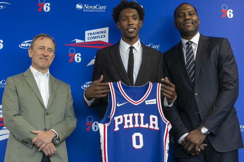 從熱火隊展開NBA生涯的理查森,對於被交易至76人仍耿耿於懷。 美聯社資料照