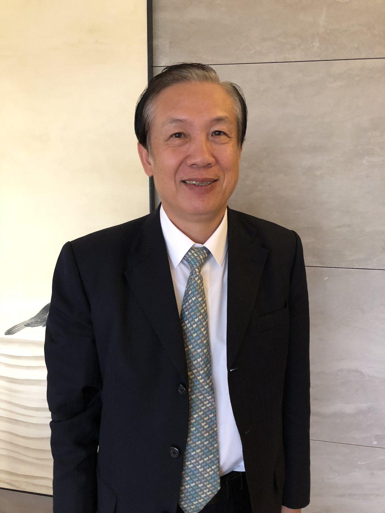商總理事長賴正鎰 記者宋健生/攝影