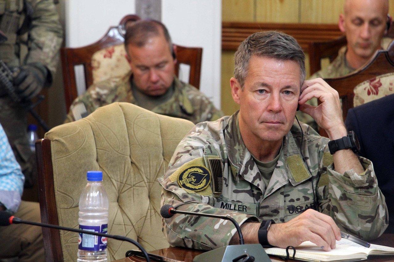 美軍阿富汗指揮官米勒。(歐新社)