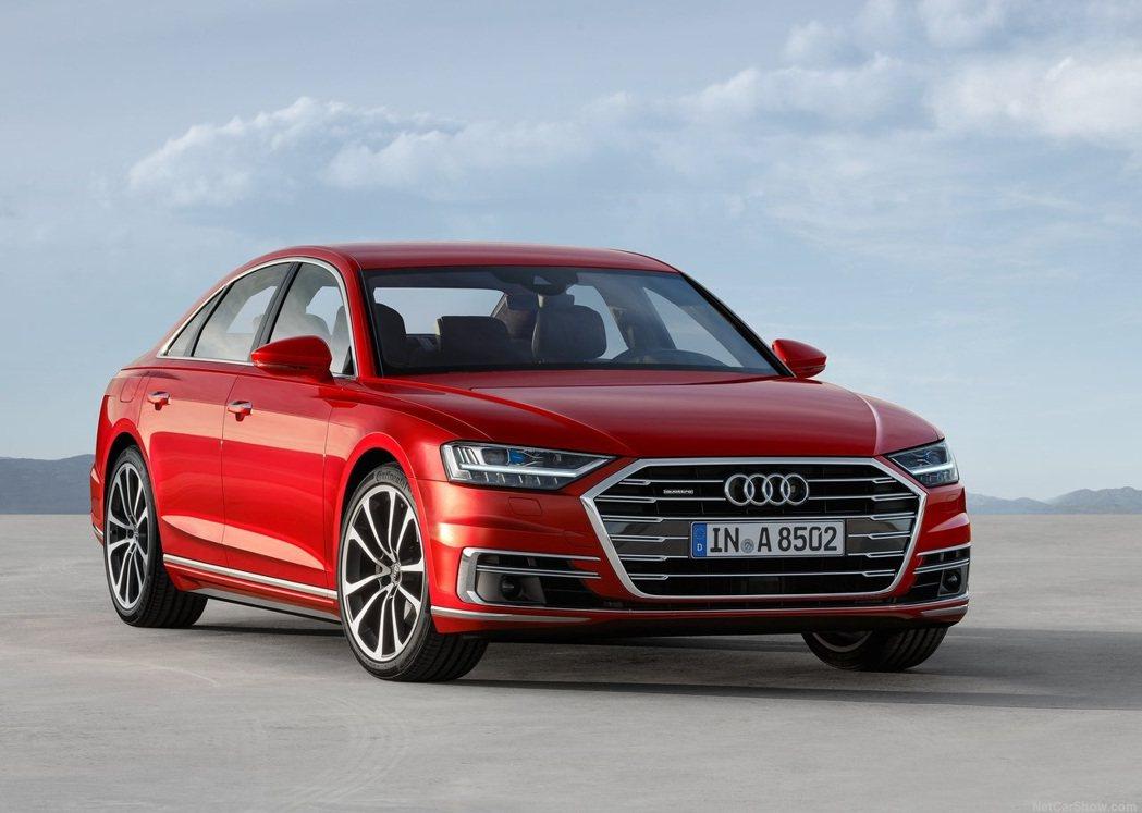 Audi A8。 摘自Audi