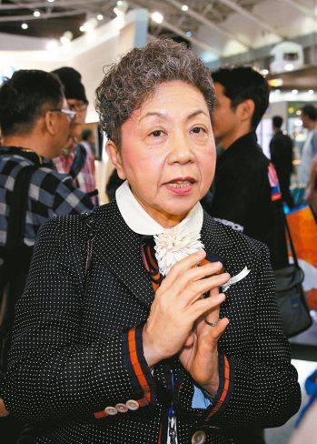 巨大董事長杜綉珍 (本報系資料庫)
