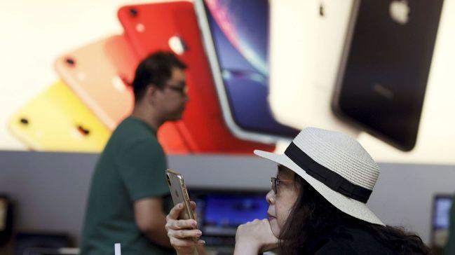 iPhone和其他在中國組裝的智慧手機在緩增關稅之列。路透