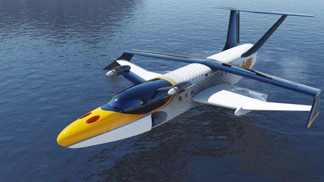 俄羅斯中央船舶設計局所研製的100人座「翼地效應船」,具有飛機的高速度,又無高空...