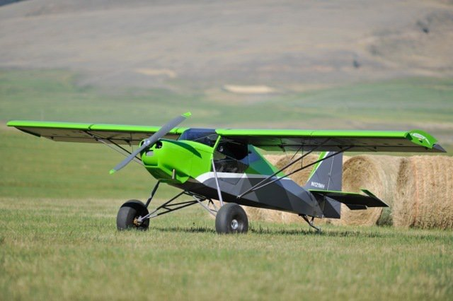 2人座的「Just SuperSTOL私人飛機」具有GPS、Autopilot(...
