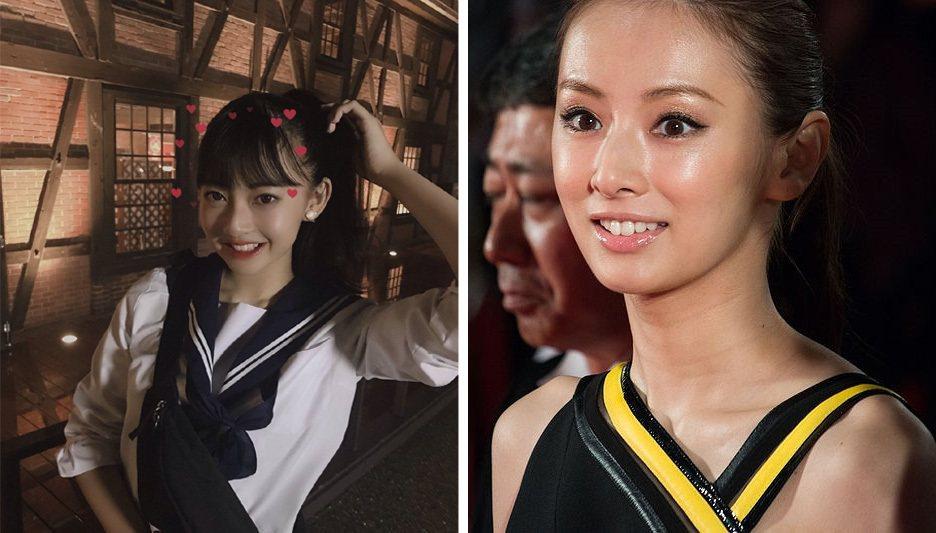 2019日本最可愛女高一生得主為愛知縣的千葉祐夕,甜美外型酷似女星北川景子。圖擷