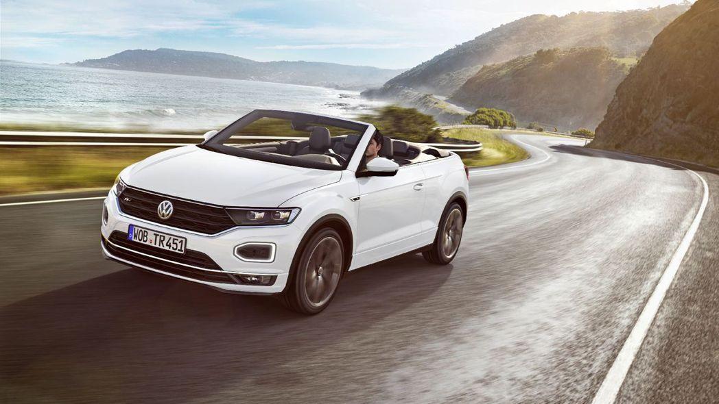 Volkswagen T-Roc Cabriolet問世啦。 摘自Volkswa...