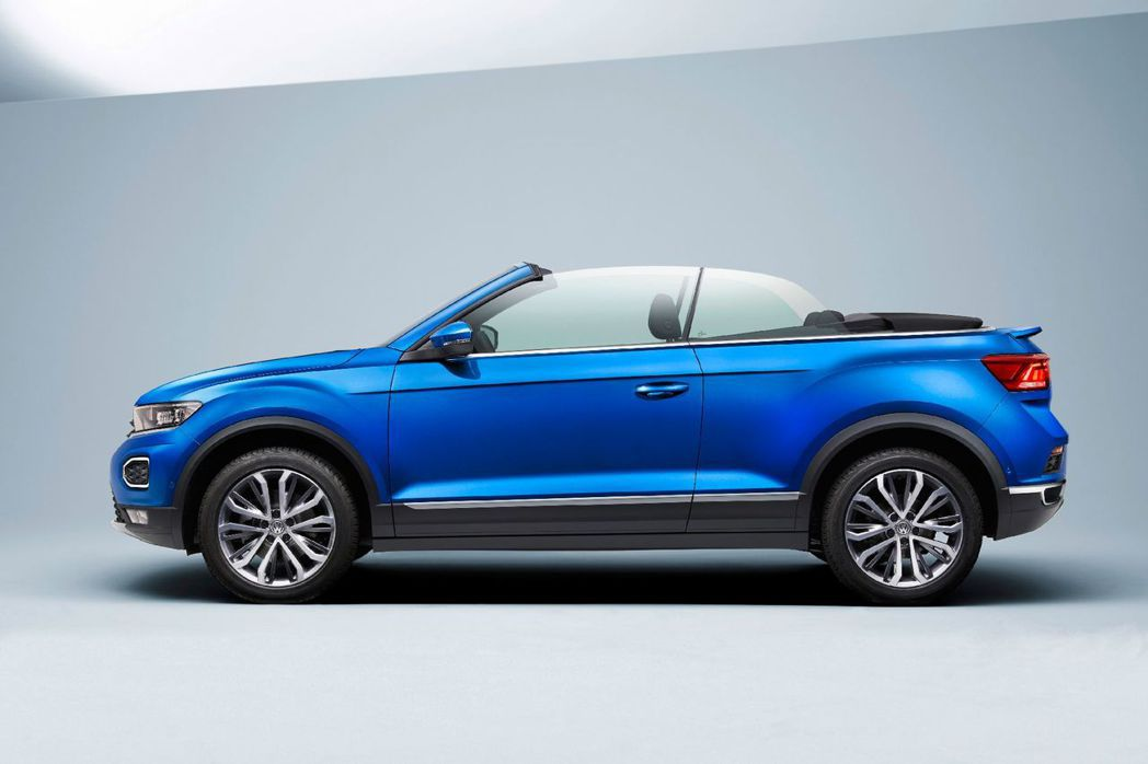 Volkswagen T-Roc Cabriolet車長比起標準版T-Roc增加...
