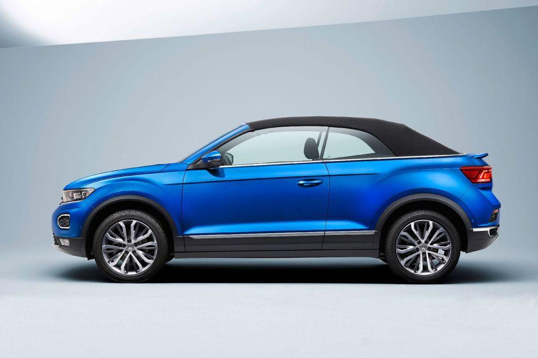Volkswagen T-Roc Cabriolet。 摘自Volkswagen
