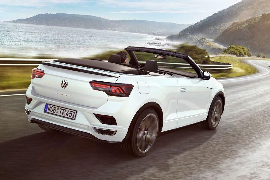 休旅車也要開篷吹吹風 全新Volkswagen T-Roc Cabriolet搶先亮相!