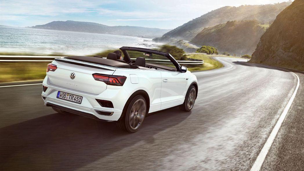 全新Volkswagen T-Roc Cabriolet預計在明年春季才會正式上...