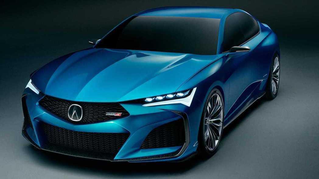 Acura Type S Concept。 摘自Acura