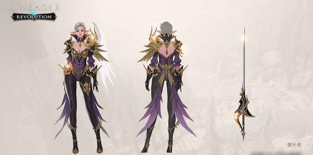 全新登場闇天使職業「法師」。