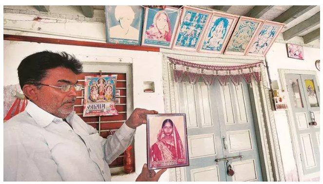 印度女子Bhikhi Panchal在死亡14年後,突然被發現依然活著好好的,她...