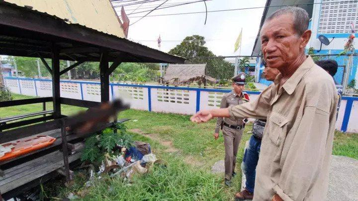 近日泰國一名男子,因不聽朋友勸告,執意要將「榴槤配酒」,結果隔日被發現陳屍在涼亭...