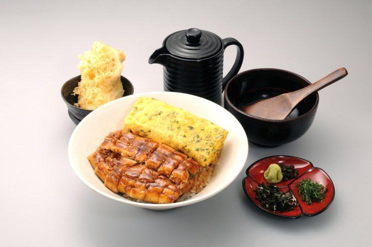 可以享受到鰻魚三吃的鰻櫃御膳,每份530元。圖/鰻重總本家提供