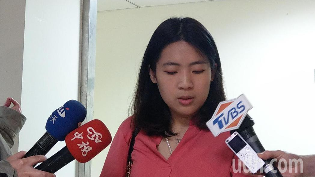 台北市議員徐巧芯。  本報系資料照片